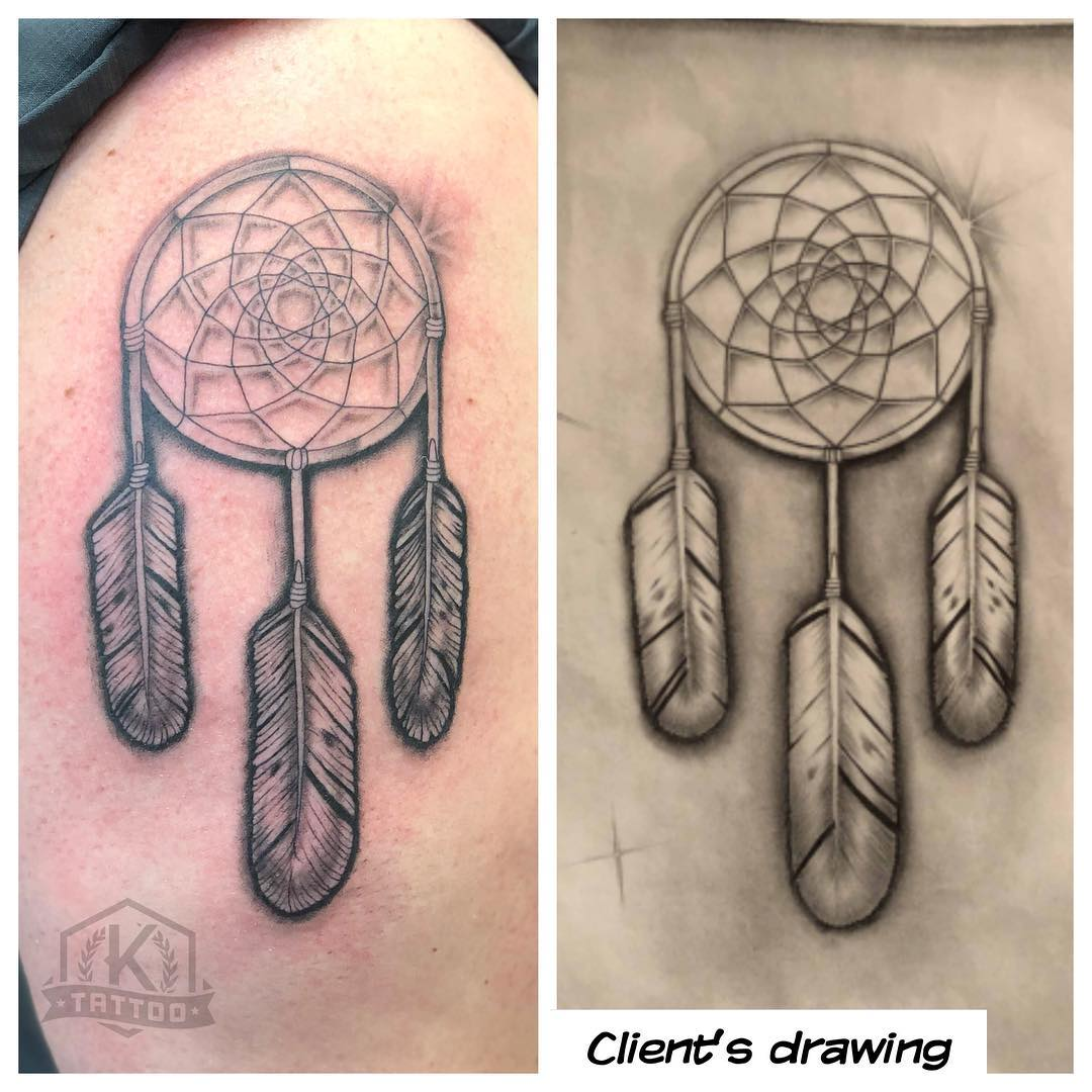 blackandgrey_dreamcatcher_clientsdrawing